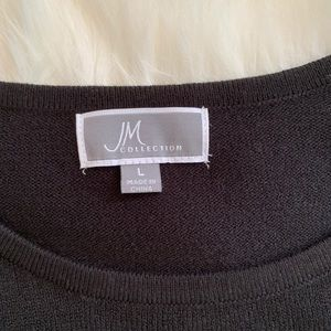 JM Collection Sweaters - ⚡️JM Collection women's black sweater